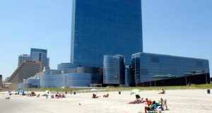 The former Revel Casino Hotel in Atlantic City, New Jersey, shown here on July 23, 2014, could face a third round of bidding after a judge refused to extend the deadline for the casino to be sold to a Florida developer. (AP file photo)