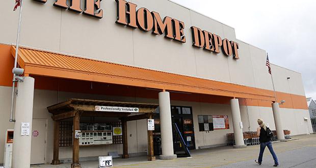 A customer walks toward a Home Depot in Nashville, Tenn. (AP file photo)