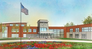 This image shows the preliminary design for a new elementary school in the Waconia Independent School District. The building is part of a $75 million construction plan voters approved in November. (Submitted photo: LSE Architects Inc.)