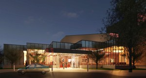 An April 6 groundbreaking is set for the $8.1 million expansion of the Myles Reif Performing Arts Center, as seen in this submitted rendering. (Submitted rendering: Alliiance)