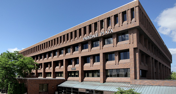 Parkdale Plaza is the largest of the six Parkdales office buildings at 1660 S. Hwy. 100 in St. Louis Park. (File photo: Bill Klotz)