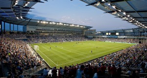 Kansas City-based Populous, the architecture firm selected for the Minneapolis soccer stadium, designed Kansas City's soccer stadium called Sporting Park. The stadium opened in 2011. (Submitted photo: Populous)