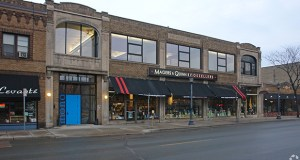 This 1923 vintage building at 3032 Hennepin Ave. in Minneapolis, home to Magers & Quinn Booksellers, has sold for $4.65 million to a private investor. (Submitted photo: CoStar)