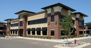 The Eden Prairie-based Norgren Group has purchased a fully leased office building at 587 Bielenberg Drive in the Tamarack Hills mixed-use development in Woodbury. (Submitted photo: CoStar)