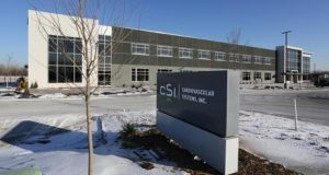 Cardiovascular Systems Inc. invested $30 million in a new headquarters in New Brighton. (Staff photo: Bill Klotz)