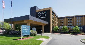 The 146-room Four Points by Sheraton, at 7745 Lyndale Ave. S. in Richfield, was built in 1987. (Staff photo: Bill Klotz)