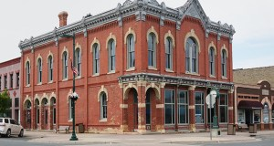 Farmington's downtown includes historically significant buildings such as the Exchange Bank Building at 344 Third St., built in 1880 after a fire destroyed much of downtown the previous year. (Staff photo: Bill Klotz)