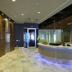 The third floor lobby.