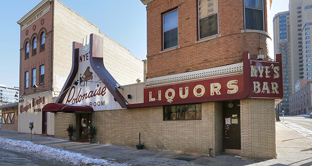 The Nye's Polonaise restaurant and bar, at 116 E. Hennepin Ave., is set to close in January. The building's owners and a developer have plans to add a 29-story residential tower to the site. (File photo: Bill Klotz)