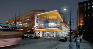 The Minnesota Timberwolves, Minnesota Lynx and City of Minneapolis expect to move forward this year with a planned $129 million renovation of Target Center in downtown Minneapolis. Some of the changes are pictured in this rendering from early 2014. (Submitted rendering: Architectural Alliance/Sink Combs Dethlefs)