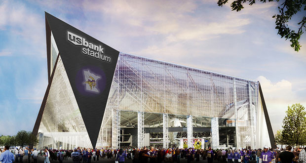 The Vikings will play in the new U.S. Bank Stadium starting in 2016. (Submitted rendering)