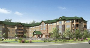 The 96-unit Cherrywood Pointe Senior Living of Forest Lake is scheduled to open Aug. 3. (Submitted rendering)