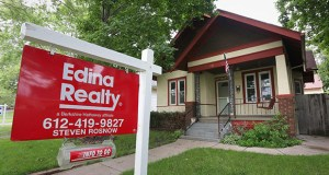 About 16,600 homes in the Twin Cities metro – including this one at 831 Conway St. in St. Paul – are currently for sale. More homes sold in June than in any month since June 2005, according to Realtors. (Staff photo: Bill Klotz)