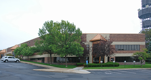 Fargo, North Dakota-based UpREIT has closed on its third property in the Twin Cities, paying $4.4 million for a 45,559-square-foot office building at 13400 15th Ave. N. in Plymouth. (Submitted photo: CoStar)