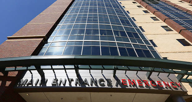Allina Health System is planning a two-year renovation of Abbott Northwestern Hospital's emergency department at 800 E. 28th St. in Minneapolis. (Staff photo: Bill Klotz)