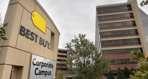 Best Buy built the company's iconic corporate headquarters in Richfield. But founder and CEO Richard Schulze had difficulty working with brokers to find a space when he first started. (File photo)