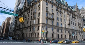 The exterior of the Dakota apartment building is shown in December 2010 on Central Park West in New York. The Dakota was one of the first luxury apartment buildings in New York and certainly the most lavish. (Bloomberg file photo)