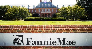 This August 2011 photo shows Fannie Mae headquarters in Washington. Fannie Mae reported Thursday that its net income from April through June was up $900 million from the same period in 2014. (AP file photo)