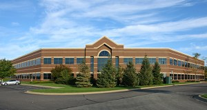Mendota Heights Business Park includes 420,000 square feet of space in six buildings along Interstate 494. (Photo: CoStar)
