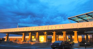 The Rochester International Airport is growing, but is looking to expand further as Rochester embarks on a massive downtown build-out expected to boost its population and tourism industry. (Submitted photo: Destination Medical Center Corp. board)