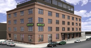 Arctic Cat plans to move next summer into a new headquarters, at 500 N. Third St. in the North Loop of downtown Minneapolis, to support future growth. (Submitted rendering: Arctic Cat)