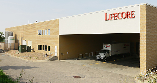 LifeCore Biomedical won city approval for a tax abatement package worth nearly $145,000 to support a 25,000-square-foot expansion at its Chaska headquarters, at 3515 Lyman Blvd. (Staff photo: Bill Klotz)