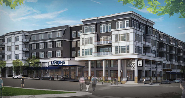 An affiliate of BohLand Development has purchased a site at 901 Lake St. E. in Wayzata, clearing the way for a luxury hotel and condo project. (Submitted rendering: Cunningham Group)