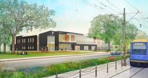 The new Midway YMCA will offer a fitness center, multiple fitness studios, aquatics center, flex spaces for various activities, walking path, racquetball courts, a rooftop patio, demonstration kitchen and children's areas. (Submitted rendering: LSE Architects)