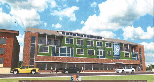 The Center for Changing Lives, a 20-unit project in Duluth spearheaded by Lutheran Social Services of Minnesota, received $4.2 million from the state. The development targets homeless and other youth. Submitted rendering: Minnesota Housing Finance Agency