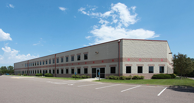 Brooklyn Park-based Mayer Electric is staying in its hometown but moving north to Brooklyn Park Business Center II, a flex building it has acquired at 8340-8376 89th Ave. N. (Submitted photo: CoStar)