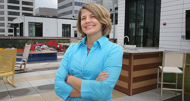 Gina Ciganik (Staff photo: Bill Klotz)