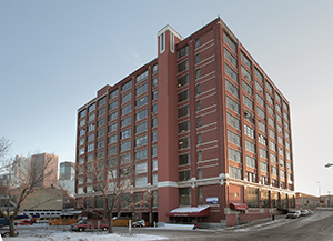 The 10-story Ford Center in Minneapolis won BOMA's award for historical building. File photo: Bill Klotz