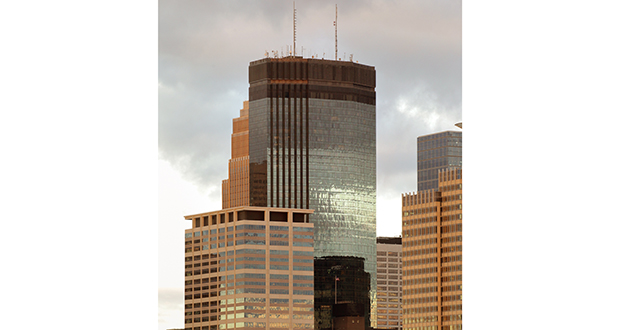 The IDS Center contains 1.4 million square feet of office and retail space in the heart of downtown Minneapolis. File photo
