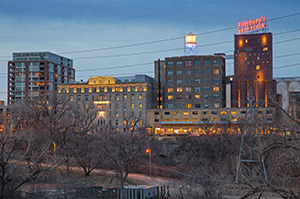 """Dominium converted the historic Pillsbury """"A"""" Mill into affordable lofts for artists. (Submitted photo)"""