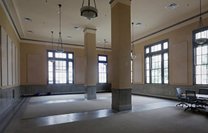 The Java Express coffee shop will move to a permanent location in Suite 120 at Union Depot this fall. The coffee shop will operate in the former Christos Greek Restaurant space while county officials get the suite ready. (Staff photo: Bill Klotz)