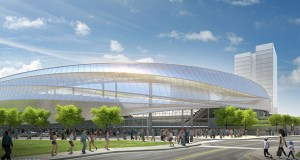 "Professional soccer club Minnesota United FC won approval Wednesday to build a 20,000-seat stadium on 16 acres on a ""superblock"" bounded by Interstate 94 and Snelling and University avenues. (Submitted image)"