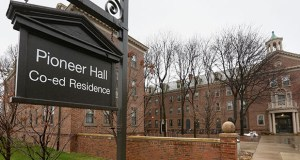 The University of Minnesota Board of Regents' facilities committee is recommending approval of a $104.5 million project that would include a major renovation of Pioneer Hall, 615 Fulton St. SE in Minneapolis. (File photo: Bill Klotz)