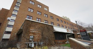 The University of Minnesota is seeking proposals for a renovation project that would allow it to proceed with demolition of the Masonic Memorial building, 424 Harvard St., pictured, and the neighboring VFW Cancer Research Center, 406 Harvard St. (File photo: Bill Klotz)