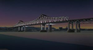 A rehabbed historic Highway 43 Winona Bridge is expected to reopen in fall 2019 or early 2020, according to the Minnesota Department of Transportation. (Submitted rendering: MnDOT)