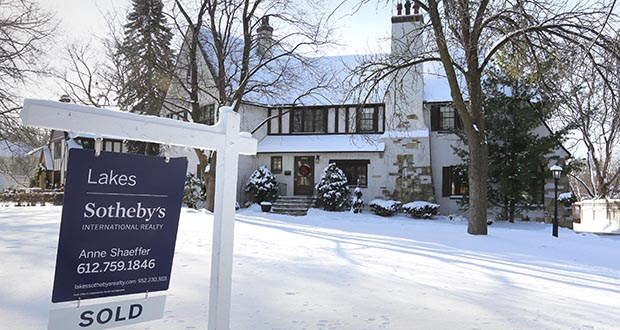 Sales of Twin Cities homes like this one at 4600 Browndale Ave. in Edina set some records in November, according to the Minneapolis Area Association of Realtors.(Staff photo: Bill Klotz)