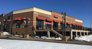 Café Zupas is the first of four new tenants to open in the former Santorini restaurant site at 13000 Technology Drive in Eden Prairie, which Venture Pass Partners redeveloped and sold to an investor for $6.72 million. (Submitted photo: Venture Pass Partners)