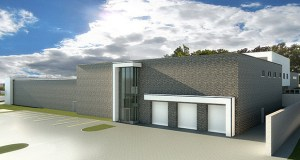 The St. Paul Port Authority is building a $10.3 million police safety training center at 600 Lafayette Road in St. Paul. It is one of several real estate and redevelopment projects it is featuring on its newly redesigned website. (Submitted image: Wold Architects and Engineers)