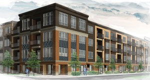 Chase Real Estate of Burnsville plans to build apartments at 50 Travelers Trail E. in Burnsville. The site was approved in 2004 for the construction of a condo building, but has been vacant for about a decade. (Submitted illustration: Kass Wilson Architects)