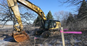 The Minnesota office of Miami-based Lennar has paid $4.6 million for this 55-acre site along County Highway 42 in Prior Lake, where it plans to build 71 homes and 122 townhome units. (Staff photo: Bill Klotz)