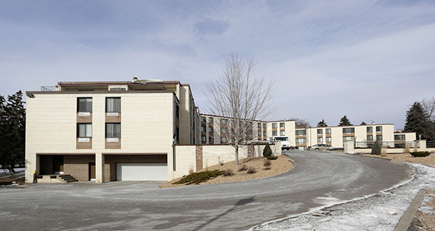 Minneapolis apartment owner Scott Weber has acquired the 61-unit Interlachen Court apartments at 5300 Vernon Ave. in Edina as part of a $13 million portfolio. (Submitted photo: CoStar)