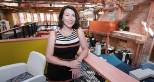 JoAnna Hicks formed her own company, Element Commercial Real Estate, in late 2015 and has since embarked on a series of projects in two white-hot areas of Minneapolis, the North Loop and Northeast. The company is housed in the St. Anthony Main area. (Staff photo: Bill Klotz)