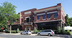 Wealth manager Katherine Forrester Schneewind is moving her company from Eden Prairie to this landmark building she has acquired for $3.55 million at 18258 Minnetonka Blvd. in downtown Deephaven. (Submitted photo: CoStar)