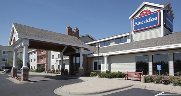 An AmericInn at 570 Pond Promenade in Chanhassen is among 64 Minnesota AmericInns that are part of a franchise that Wyndham Hotel Group has purchased for $170 million. (Staff photo: Bill Klotz)