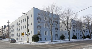 The vintage Isles East apartment property at 1017-1101 W. 28th St. in Minneapolis and its companion, Isles West, have sold for $13.69 million after renovation. (The vintage Isles East apartment property at 1017-1101 W. 28th St. in Minneapolis and its companion, Isles West, have sold for $13.69 million after renovation.)