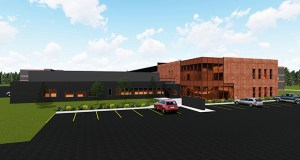 This image shows the design of the new L&M Radiator Inc. manufacturing plant under construction at its headquarters at 1414 E. 37th St. in Hibbing, Minnesota. (Submitted image: DSGW)